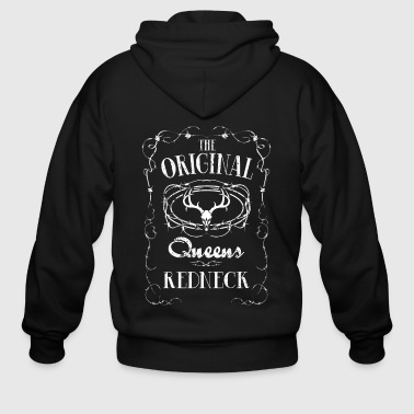 Queens Redneck Redneck Power Hillbilly - Men's Zip Hoodie