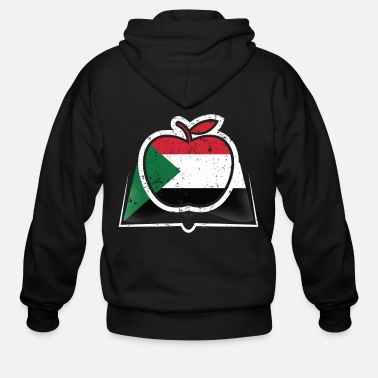 South Sudanese Teacher Super Teacher Sudan - Men's Zip Hoodie