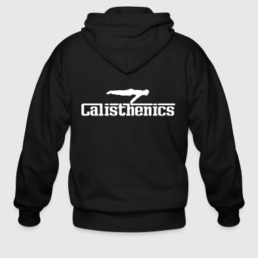 Calisthenics white - Men's Zip Hoodie
