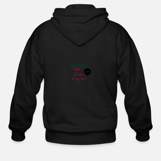 Sale Hoodies & Sweatshirts - Sales engineer - Men's Zip Hoodie black