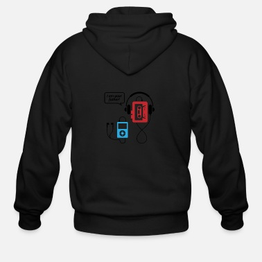 Mp3 Player MP3 Player, I Am Your Father! - Men's Zip Hoodie