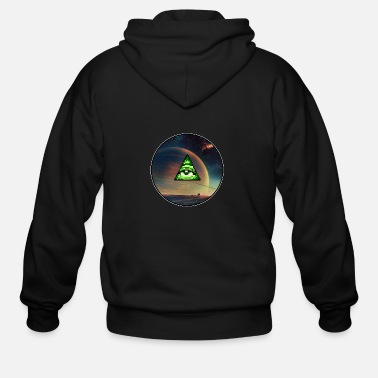 Martian The Martian Illuminati - Men's Zip Hoodie