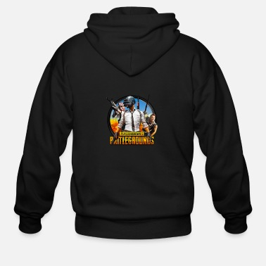 Unknown Playerunknowns battlegrounds t-shirts and clothing - Men's Zip Hoodie