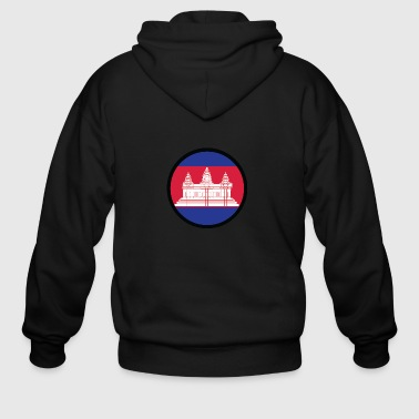 Cambodia Under The Sign Of Cambodia - Men's Zip Hoodie