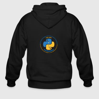 The Art Of Programming - Men's Zip Hoodie