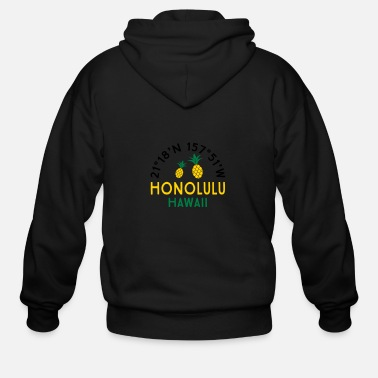 Honolulu Honolulu - Men's Zip Hoodie