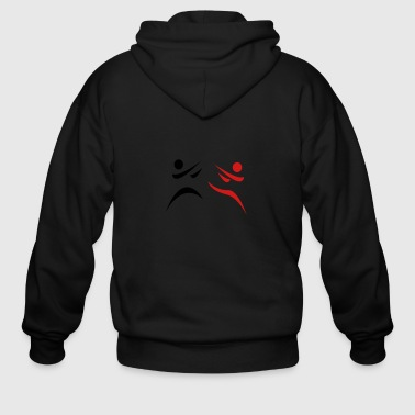 Martial-arts Martial Arts - Men's Zip Hoodie