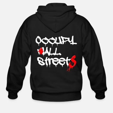 Occupy Wall Street occupy wall street - Men's Zip Hoodie