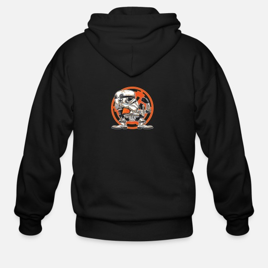 Game Hoodies & Sweatshirts - FIGHTING IN THE SANDS - Men's Zip Hoodie black
