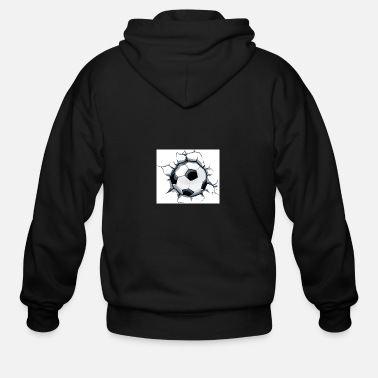 Soccer Ball Soccer ball - Men's Zip Hoodie