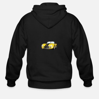 Shelby Cobra Shelby Cobra - Men's Zip Hoodie