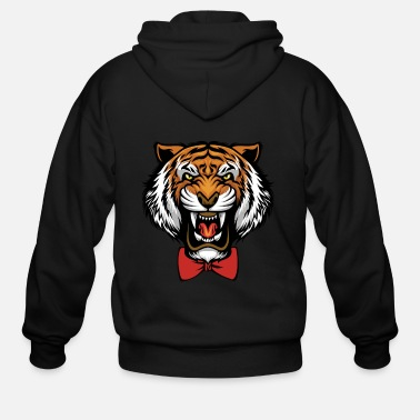 Honey Comb Yuri Plisetsky Tiger ORIGINAL - Men's Zip Hoodie
