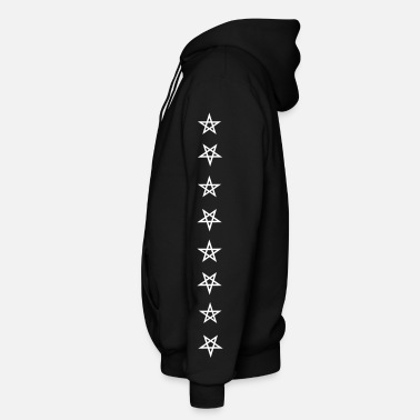 Chinese Symbols Trinity Tower 44 - Men's Zip Hoodie