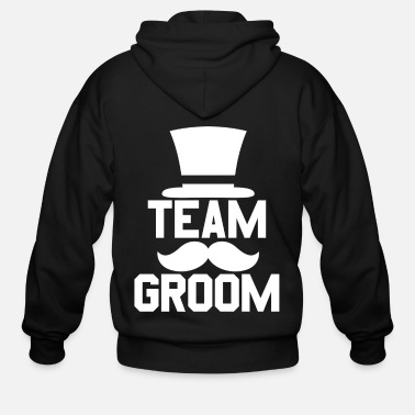 Bachelor Team Groom - Bachelor Stag Night Party Alcohol - Men's Zip Hoodie