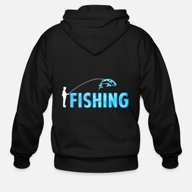 Deep Sea Fishing fishing - fishing - Men's Zip Hoodie