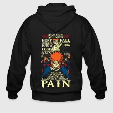 Anime naruto akatsuki pain shirt - Men's Zip Hoodie