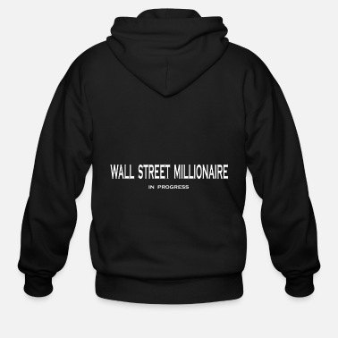 Occupy Wall Street Wall Street - Men's Zip Hoodie