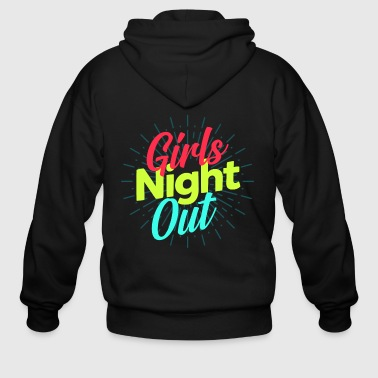 Girls Night Out Girls Night Out - Men's Zip Hoodie