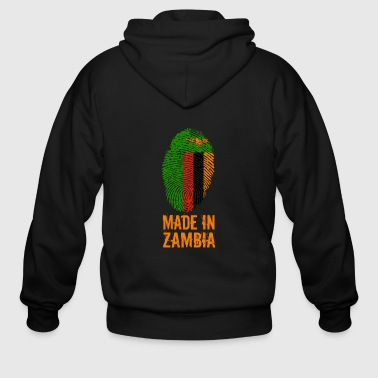 Made In Zambia - Men's Zip Hoodie