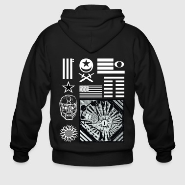 Freedom Of Speech Gothic Visionary 32 - Men's Zip Hoodie