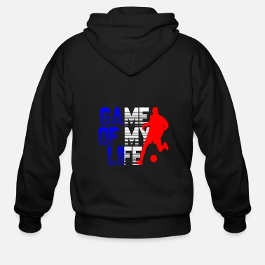 Lyon France - Men's Zip Hoodie