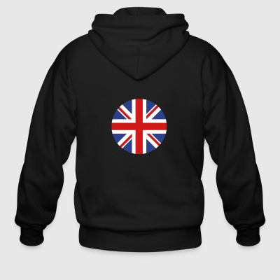 United Kingdom - Men's Zip Hoodie