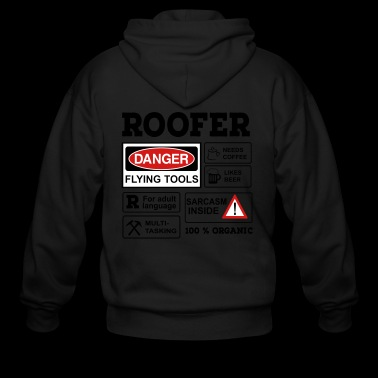roofer - Men's Zip Hoodie