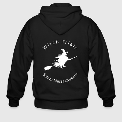 HALLOWEEN SALEM WITCH TRIALS - Men's Zip Hoodie