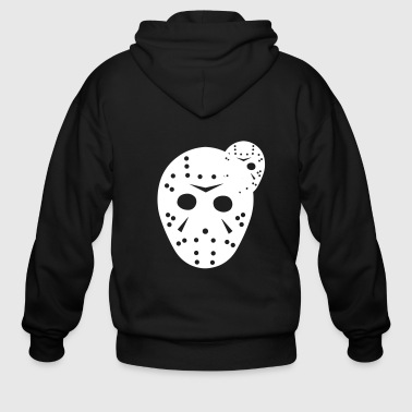 Hockey Mask - Men's Zip Hoodie