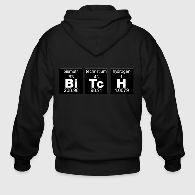 Chemistry BiTcH - Men's Zip Hoodie