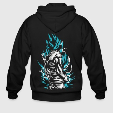 Dragon Ball - Goku SSB - Men's Zip Hoodie