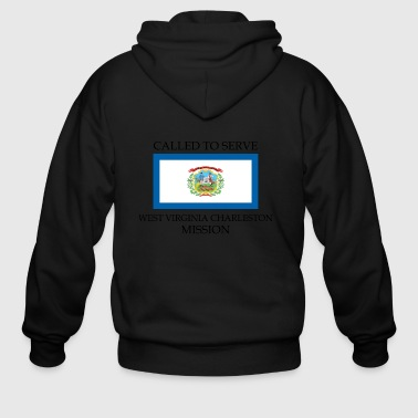 West Virginia Charleston LDS Mission Called to Ser - Men's Zip Hoodie