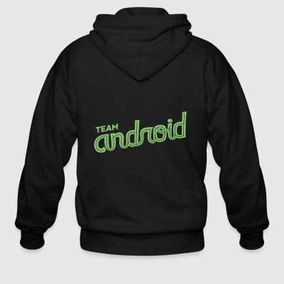 Android Team - Men's Zip Hoodie