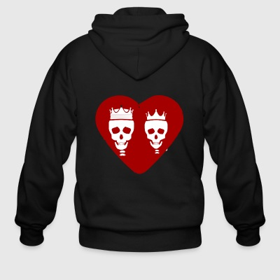 eternal love - Men's Zip Hoodie