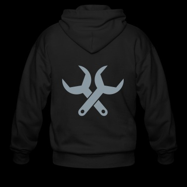 wrench - Men's Zip Hoodie
