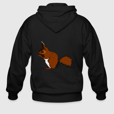 squirrel - Men's Zip Hoodie