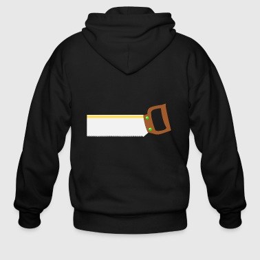 back saw - Men's Zip Hoodie