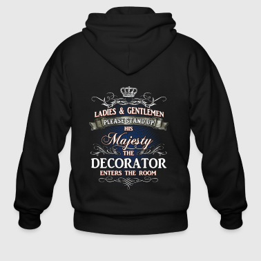 Shirts for Men, Job Shirt Decorator - Men's Zip Hoodie