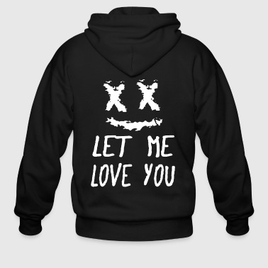 Marshmello Quotes - Men's Zip Hoodie