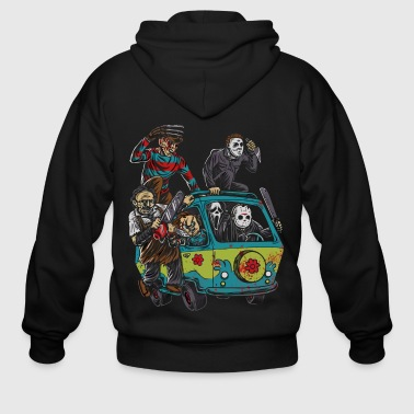 Actor of Halloween shirt - Men's Zip Hoodie