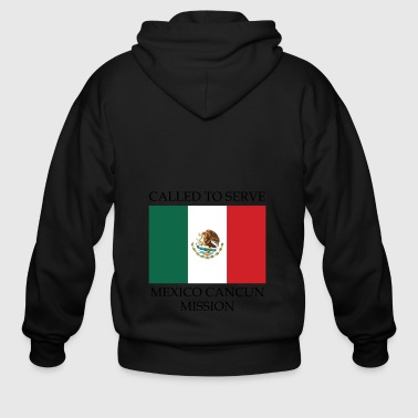 Mexico Cancun Mission LDS Mission Called to - Men's Zip Hoodie