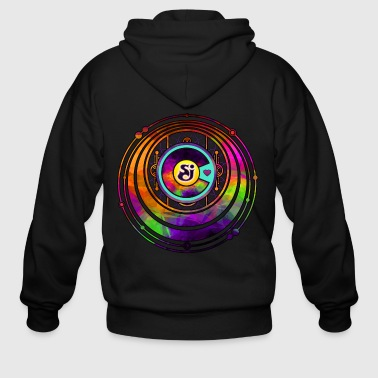 String Cheese Incident Colorado Love Sacred Funkad - Men's Zip Hoodie