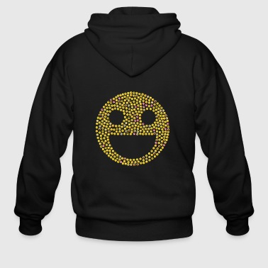 emoticons - Men's Zip Hoodie