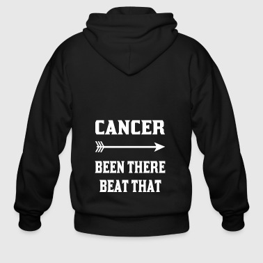 Cancer been there beat that tshirts - Men's Zip Hoodie
