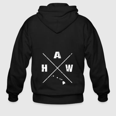Hawaii is Home shirt - Hawaii Homeland tshirts - Men's Zip Hoodie