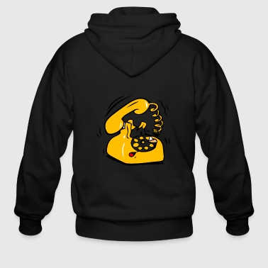 Ringing Phone - Men's Zip Hoodie