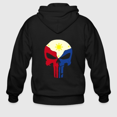 punisher ph 2 - Men's Zip Hoodie