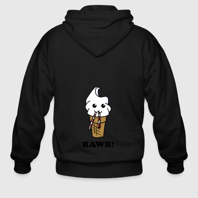 Ice cream - Men's Zip Hoodie