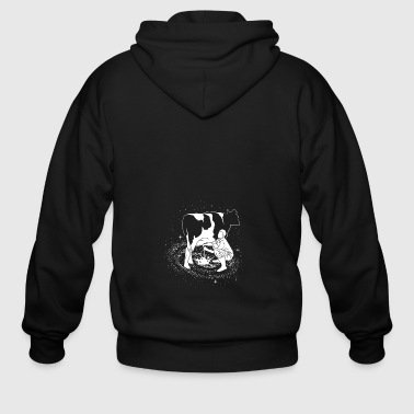 Milky Way - Men's Zip Hoodie