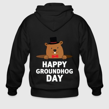 Happy Groundhog Day - Men's Zip Hoodie